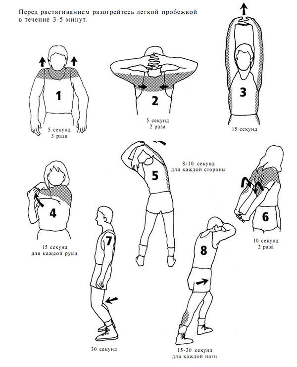 e6db6dc5 Упражнения на растяжку «ДО» занятий баскетболом
