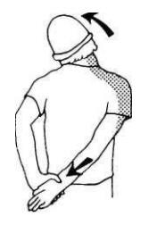 Растяжка боковой части шеи