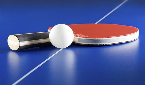 Настольный теннис, упражнения на растяжку
