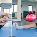 Упражнение для растяжки верхней части разгибателей бедра.