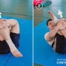 Упражнение для растяжки ягодичных мышц.