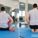 Упражнение для вытягивания пальцев ног.