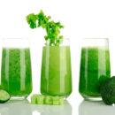 Детокс рецепт: Очищающий зелёный соковый коктейль