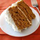 Морковный торт с имбирем